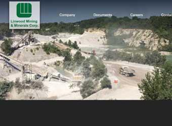Linwood Mining Website detail