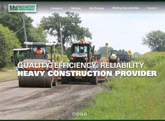 McCarthy Improvement Website detail