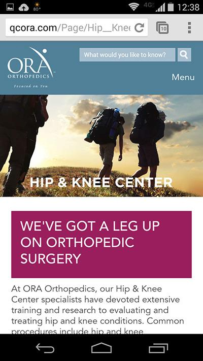 ORA Orthopedics Logo